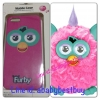 ZFB026 Furby Case iPhone5 Cotton Candy ชมพูหูฟ้า