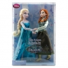 ฮ Anna and Elsa Doll Ice Skating Set - Frozen - 12''