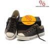 รองเท้า Converse All Star Overseas Edition หนังน้ำตาลปี 2011 หุ้มส้น ตาไก่6เหลี่ยม ผู้ชาย ผู้หญิง Shoes Size 37-44 พร้อมกล่อง