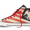 รองเท้าผ้าใบ Converse Vintage Converse American Flag Totem Eagle Stripes All Star High Tops Red/Blue/White Size 40-44 พร้อมกล่อง