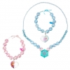 z Anna and Elsa Necklace and Bracelet Set - Frozen from Disney USA แท้100% นำเข้าจากอเมริกา