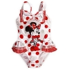 zMinnie mouse deluxe swimsuit for girls(size 5/6) (พร้อมส่ง)