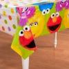 Sesame Street 1st Plastic Tablecover ผ้าปูโต๊ะ ฉลองงานวันเกิด ของแท้ นำเข้าจากอเมริกา
