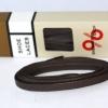 สายเชือกรองเท้าหนังแว๊ก leather rope wax สีน้ำตาลเข้ม เหมาะสำหรับ Redwing Timberland Dr.martens อื่นๆ ยาว 146 CM (2 เส้น)