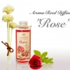 """""""ROMANCE ROSE"""" Aroma Reed Diffuser / น้ำมันหอมระเหยปรับอากาศ ดอกกุหลาบ"""
