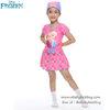 ( For Kids ) ชุดว่ายน้ำ เด็กผู้หญิง Swimsuit for Girls - Disney Frozen บอดี้สูท เสื้อแขนยาวกระโปรงกางเกง สีชมพู ชุดว่ายน้ำเด็กผู้หญิง เจ้าหญิงดิสนีย์ ของแท้