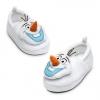 z Olaf Plush Slippers - Frozen (15cm.) from USA รองเท้าโอลาฟ ของแท้ นำเข้าจากอเมริกา