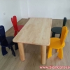 ชุดโต๊ะกิจกรรม (โต๊ะ 1 ตัว และเก้าอี้ 4 ตัว)