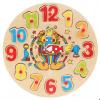 ของเล่นไม้ PUZZLE CLOCK