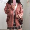 [พร้อมส่ง] เสื้อไหมพรมแขนทรงค้างคาว สวยคลาสสิก สไตล์วินเทจ มีสีแดงอิฐ/น้ำตาล