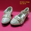 16A111-B1 Beige รองเท้าเด็กผู้หญิง สีเบจ ใส่ไปงานแต่ง งานเลี้ยง ไซส์26-30