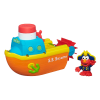 z Sesame Street Elmo Bath Advanture Playskool Steamboat Toy