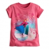 Z Tee for Girls Anna and Elsa - Frozen (Pink Size 4)