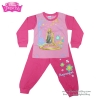 ชุดนอนเด็ก Disney Rapuzel เสื้อแขนยาวสีชมพู กางเกงขายาวสีชมพูสุดน่ารัก ดิสนีย์แท้ ลิขสิทธิ์แท้ ( 4-6-8 ปี )