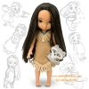 z Disney Animators' Collection Pocahontas Doll - 16'' (พร้อมส่ง) ตุ๊กตาดีสนีย์ แอนิเมเตอร์ เจ้าหญิงโพคาฮอลทัส รุ่นเก่า (รุ่นแรก)