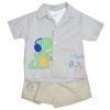 เสื้อชุดเด็กชาย 3 ชิ้น ขนาด 2 และ 4 ปี