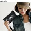 กระเป๋าคลัทช์ แฟชั่นกระเป๋าถือผู้หญิง แฟชั่นมาใหม่สไตล์ยุโรป-อเมริกา หนังแท้ สีลูกกวาด