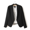 Pre-Order เสื้อสูทผู้หญิง แฟชั่นเสื้อผ้าสเวอร์ชั่นเกาหลี แขนยาว สีดำ