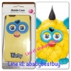 ZFB023 Furby Case iPhone5 Lightning Zap เหลืองหูฟ้า