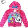 ฮ ( Size เด็ก 4-6-8-10-12-14 ปี ) Jacket Disney Marie เสื้อแจ็คเก็ต เสื้อกันหนาว เด็กผู้หญิง สกรีนลาย แมวมารี สีชมพู รูดซิป มีหมวก(ฮู้ด)ใส่คลุมกันหนาว กันแดด ใส่สบาย ดิสนีย์แท้ ลิขสิทธิ์แท้