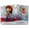 Z Figure Infinity Frozen Toy Box Pack - Anna and Elsa from Disney USA ของแท้ นำเข้าจากอเมริกา