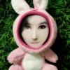 ตุ๊กตากระต่ายชมพู