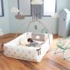 CreamBed Creamhaus ที่นอนผ้า เเละเบาะรอง น่ารักสุดๆ พร้อมโครงโมบาย