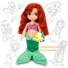 z Disney Animators' Collection Ariel Doll - 16'' (พร้อมส่ง) ตุ๊กตาดีสนีย์ แอนิเมเตอร์ เจ้าหญิง แอเรียล รุ่นเก่า (รุ่นแรก)