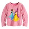 Disney Princess Long Sleeve Tee for Girls ของแท้ นำเข้าจากอเมริกา (Size: 5/6)