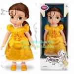 z Disney Animators' Collection Belle Doll - 16'' รุ่นใหม่ (พร้อมส่ง) ตุ๊กตาดีสนีย์ แอนิเมเตอร์ เจ้าหญิงเบล รุ่นใหม่ รุ่น2 (รุ่นสอง)