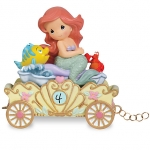 z Ariel ''Make a Splash on Your Birthday'' Fourth Birthday Figurine by Precious Moments