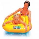 Intex Deluxe Baby Float Pool School Step1 ห่วงสอดขา ฝึกว่ายน้ำ เดอลุกซ์เบบี้โฟล์ท Ages1-2