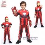 ' ( 4-6-8-10 ปี ) ชุดแฟนซี เด็กผู้ชาย Iron Man - The Avengers ชุดแฟนซี Super Hero - เสมือนจริง มาพร้อมกับเสื้อ กางเกง หน้ากาก เพื่อให้คุณหนูๆได้สนุกกับชุดsuper hero คนโปรดตามจิตนาการ ชุดสุดเท่ห์ ใส่สบาย ลิขสิทธิ์แท้