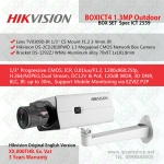 ชุดกล้องวงจรปิด HIKBOXICT4 Hikvision DS-2CD2810FWD 960P +Lens +Wall Mount Bracket