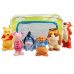 Z Winnie the Pooh and Pals Bath Toy Set for Baby