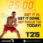 Focus T25 - All Set 3 DVD + 1 CD File E Book เพียง 120 บาท