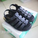 รองเท้ายางเด็กสีดำ USA11