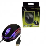 USB Optical Mouse Dior (LED/RED) คละสีก่อง