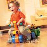รถหัดเดินขาไถ tomy toddle n ride ฝึกพัฒนาการวัยเตาะแตะ