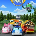 Robocar Poli โรโบคาร์ โพลิ Vol 1-4 พากษ์ไทย DVD