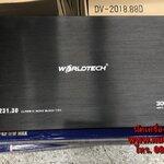 เพาเวอร์แอมป์รถยนต์ คลาสดี 3000 W ยี้ห้อ WORELDTECH