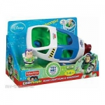 z Fisher Price Little People Buzz Lightyear & spaceship - Toy Story From USA