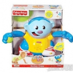 Fisher Price Baby Gymnastics Monkey Chase (มือสอง พร้อมกล่อง สภาพ95%)