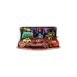 z Lightning McQueen Pit Crew Pixar CARS 2 Movie Exclusive PVC Figurine Playset