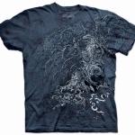 Pre.เสื้อยืดพิมพ์ลาย3D The Mountain T-shirt : Eagle Tree MD
