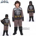 """""""ชุดแฟนซี เด็กผู้ชาย แบทแมน Bat Man เสมือนจริง มาพร้อมกับเสื้อ กางเกง หน้ากาก เพื่อให้คุณหนูๆได้สนุกกับชุดsuper hero คนโปรดตามจิตนาการ ชุดสุดเท่ห์ ใส่สบาย ลิขสิทธิ์แท้ (XS,S,M,L,XL)"""