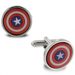 z Captain America Cufflinks by 1928 Jewelry
