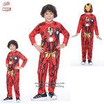 """"""" ชุดแฟนซี เด็กผู้ชาย Iron Man - The Avengers ( 4-6-8-10 ปี ) ชุดแฟนซี Super Hero - เสมือนจริง มาพร้อมกับเสื้อ กางเกง หน้ากาก เพื่อให้คุณหนูๆได้สนุกกับชุดsuper hero คนโปรดตามจิตนาการ ชุดสุดเท่ห์ ใส่สบาย ลิขสิทธิ์แท้"""