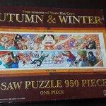 จิ๊กซอว์ 950 ชิ้น Autumn & winter onepiece