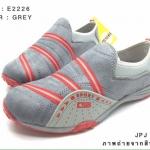 รองเท้าผ้าใบไร้เชือก สไตล์ Sport Girls น้ำหนักเบา เล่นสีตัดทูโทนพื้นยางกันลื่นอย่างดี